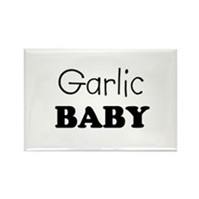 Garlic baby Rectangle Magnet