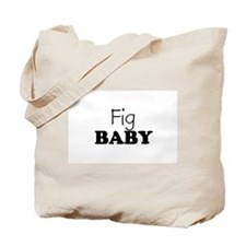 Fig baby Tote Bag