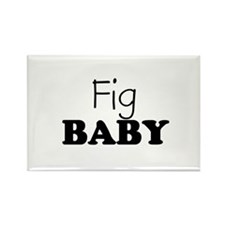 Fig baby Rectangle Magnet