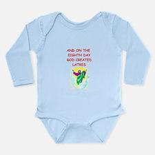 latkes Long Sleeve Infant Bodysuit