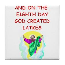 latkes Tile Coaster