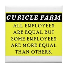Cubicle Farm Tile Coaster