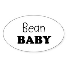 Bean baby Oval Decal