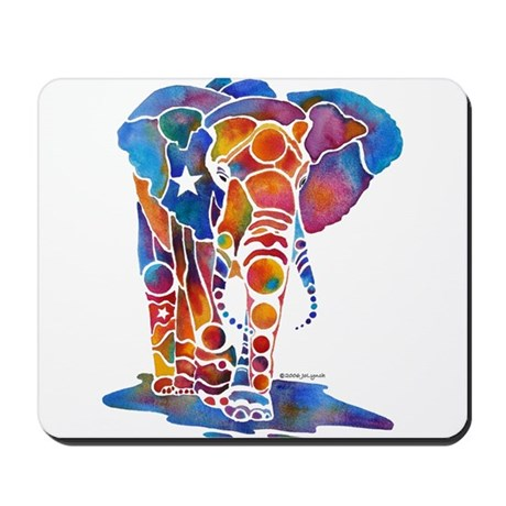 Whimzical Emma Elephant Mousepad