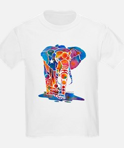 Whimzical Emma Elephant Kids T-Shirt