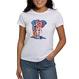 Elephant art Women's T-Shirt