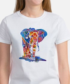 Whimzical Emma Elephant Women's T-Shirt