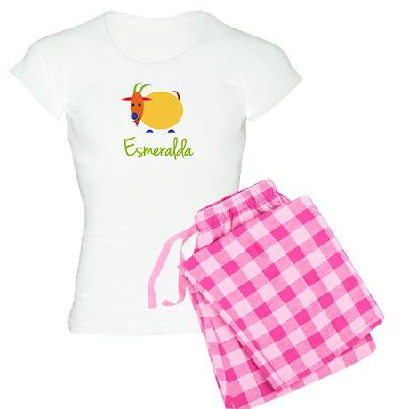 Esmeralda The Capricorn Goat Women's Light Pajamas