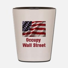 Occupy Wall Street Shot Glass