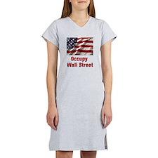Occupy Wall Street Women's Nightshirt