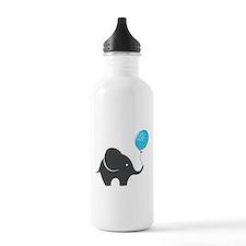 Elephant with balloon Water Bottle