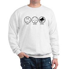 Eat Sleep Piano Sweatshirt