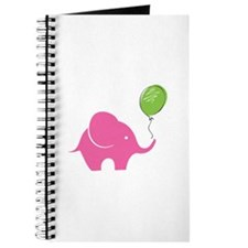 Elephant with balloon Journal