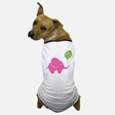 Elephant with balloon Dog T-Shirt