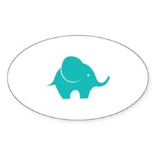 Elephant with balloon Stickers