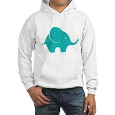 Elephant with balloon Hoodie