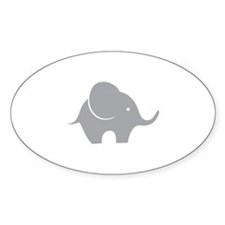 Elephant with balloon Decal