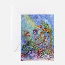 Mermaids Greeting Card