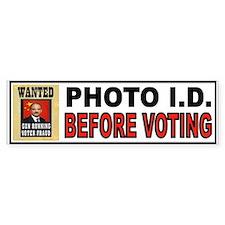 VOTE OFTEN Bumper Sticker