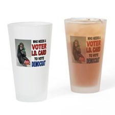 VOTE OFTEN Drinking Glass