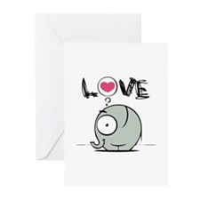 Elephant Greeting Cards (Pk of 20)