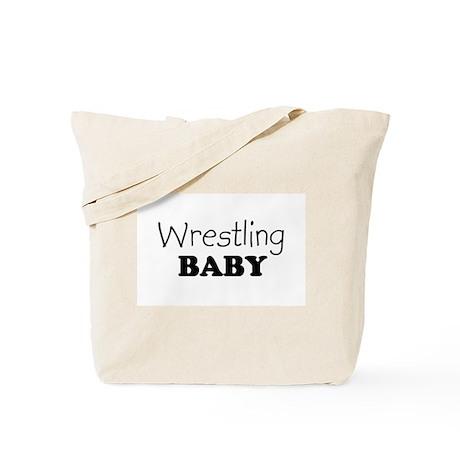 Wrestling baby Tote Bag