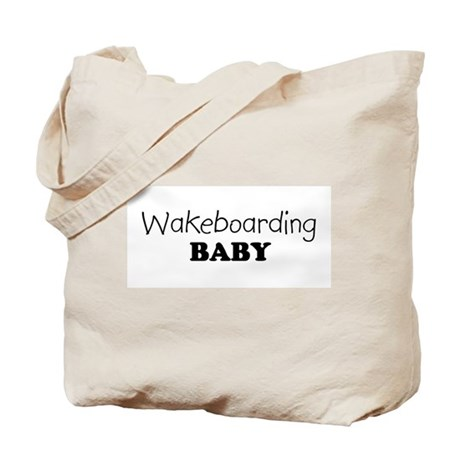 Wakeboarding baby Tote Bag