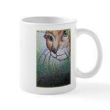 Cat, pet, animal, art, Mug