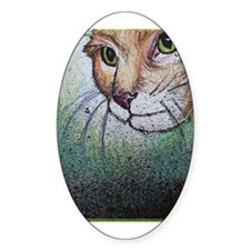 Cat, pet, animal, art, Decal