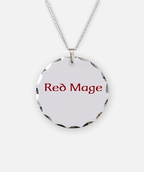 Red Mage Necklace