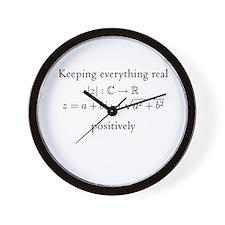 Keeping everything real v2 Wall Clock