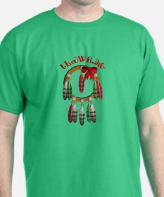 Cherokee Christmas Dream Catcher T-Shirt