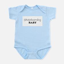 Skateboarding baby Infant Creeper