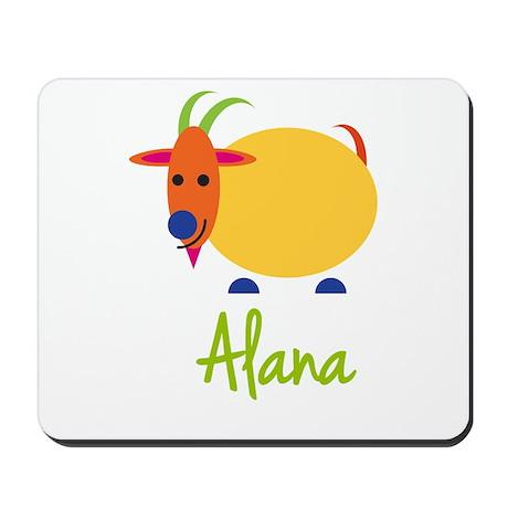 Alana The Capricorn Goat Mousepad