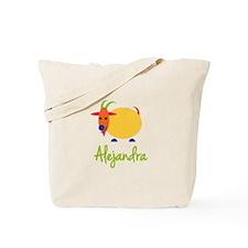 Alejandra The Capricorn Goat Tote Bag