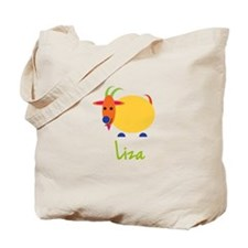 Liza The Capricorn Goat Tote Bag