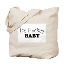 Ice Hockey baby Tote Bag