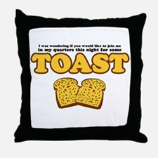 Nacho - Toast Throw Pillow