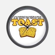 Nacho - Toast Wall Clock