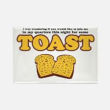 Nacho - Toast Rectangle Magnet