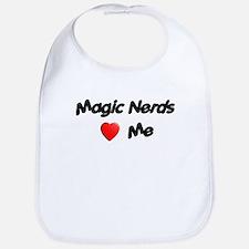 Magic Nerds (heart) Me Bib