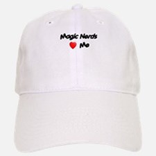 Magic Nerds (heart) Me Baseball Baseball Cap