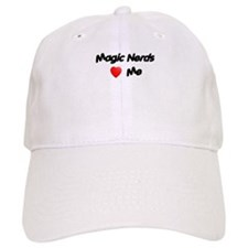 Magic Nerds (heart) Me Baseball Cap