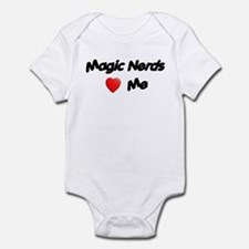 Magic Nerds (heart) Me Infant Bodysuit