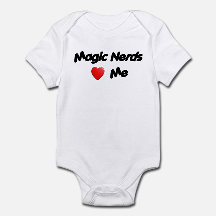 Magic Nerds (heart) Me Infant Bodysuit