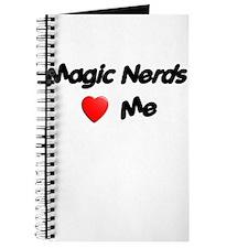 Magic Nerds (heart) Me Journal