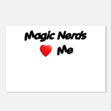 Magic Nerds (heart) Me Postcards (Package of 8)
