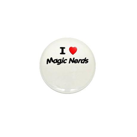 I (heart) Magic Nerds Mini Button (100 pack)