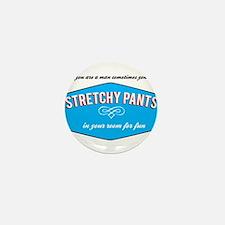 Stretchy Pants Mini Button