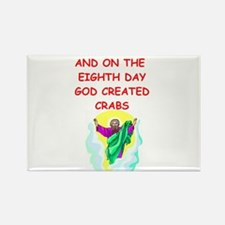 crabs Rectangle Magnet